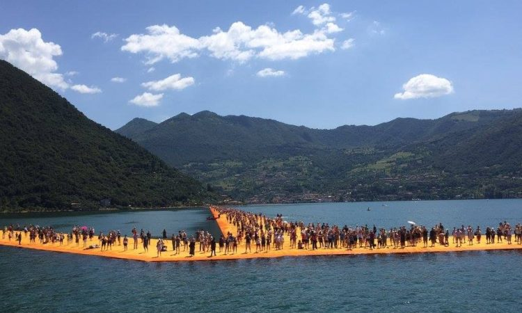 immagine dei Floating Piers