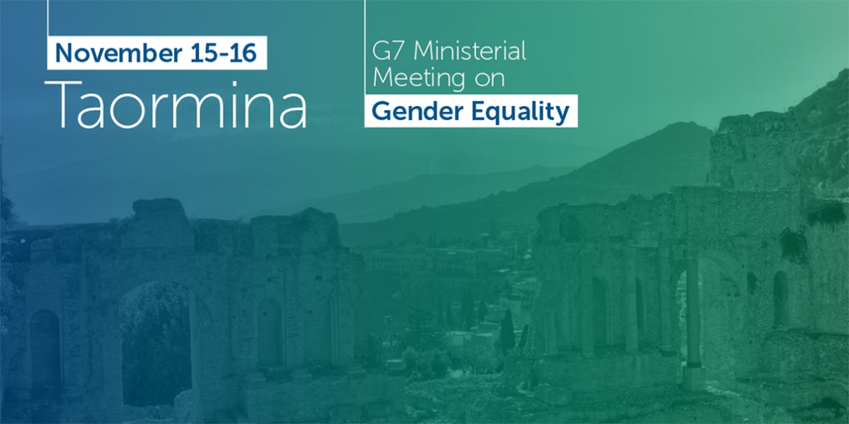 G7 Gender Equality Logo