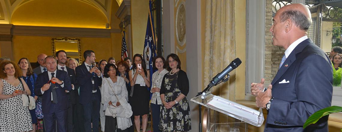 Remarks by Ambassador Eisenberg at Fulbright 70th Anniversary
