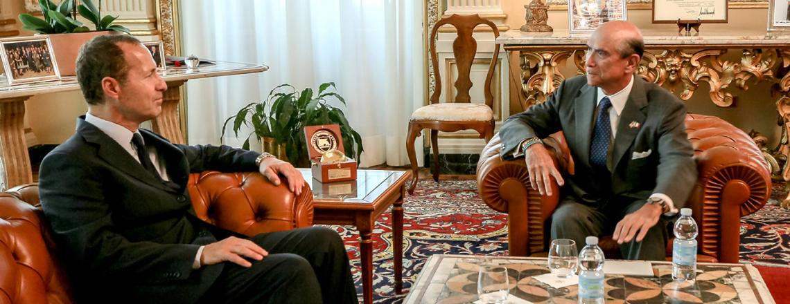 «Il governo italiano non sembra diviso» Intervista all'Ambasciatore USA Eisenberg