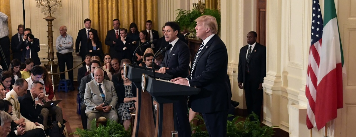 Remarks by President Trump and Prime Minister Conte of Italy in Joint Press Conference